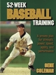 52-Week Baseball Training Cover