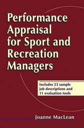 Performance Appraisal for Sport and Recreation Managers