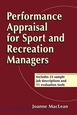 Performance Appraisal for Sport and Recreation Managers Cover