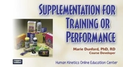 Supplementation for Training or Performance Enhanced Online CE Course