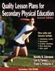 Quality Lesson Plans for Secondary Physical Education-2nd Edition Cover