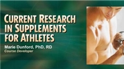 Current Research in Supplements for Athletes Course-NT