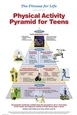Fitness for Life Physical Activity Pyramid for Teens Poster Cover