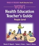 WOW! Health Education Teacher's Guide-Purple Level Cover