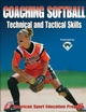 Softball players learn to make the catch