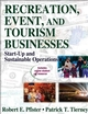 Recreation, Event, and Tourism Businesses With Web Resources Cover