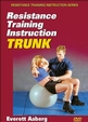 Resistance Training Instruction DVD: Trunk Cover