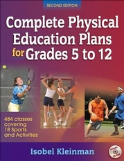 Complete Physical Education Plans for Grades 5 to 12-2nd Edition