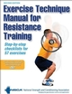 Exercise Technique Manual for Resistance Training-2nd Edition Cover