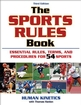 The Sports Rules Book-3rd Edition Cover