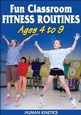 Fun Classroom Fitness Routines Ages 4 to 9 DVD Cover