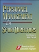 Personnel Management for SportDirectors Cover