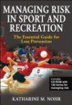 Managing Risk in Sport and Recreation Cover