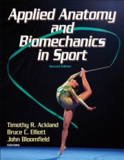 Applied Anatomy and Biomechanics in Sport Image Bank-2nd Edition