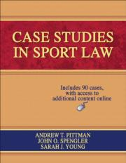 Case Studies in Sport Law Online Student Resource