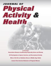 Journal of Physical Activity and Health, Volume 5, Supplement 1