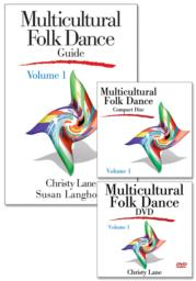 Multicultural Folk Dance Treasure Chest, Volume 1 - DVD with CD