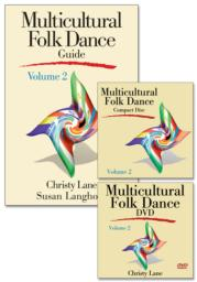 Multicultural Folk Dance Treasure Chest, Volume 2 - DVD with CD