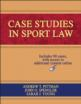 Case Studies in Sport Law eBook With Web Resource Cover
