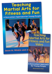 Teaching Martial Arts for Fitness and Fun Book/Video Package-PAL