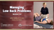 Managing Low Back Problems 2.0 Course