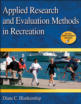 Applied Research and Evaluation Methods in Recreation eBook Cover