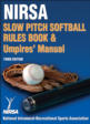 NIRSA Slow Pitch Softball Rules Book & Umpires' Manual-3rd Edition Cover