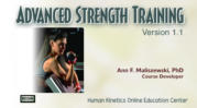 canfitpro: Advanced Strength Training, Version 1.1-T
