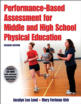 Performance-Based Assessment for Middle and High School Physical Education Presentation Package-2nd Edition Cover