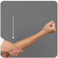 Deep Tissue Massage Elbow Pressure