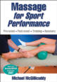 Massage for Sport Performance Cover