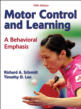 Motor Control and Learning 5th Edition eBook Cover