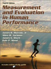 Measurement and Evaluation in Human Performance Presentation Package/Image Bank-4th Edition