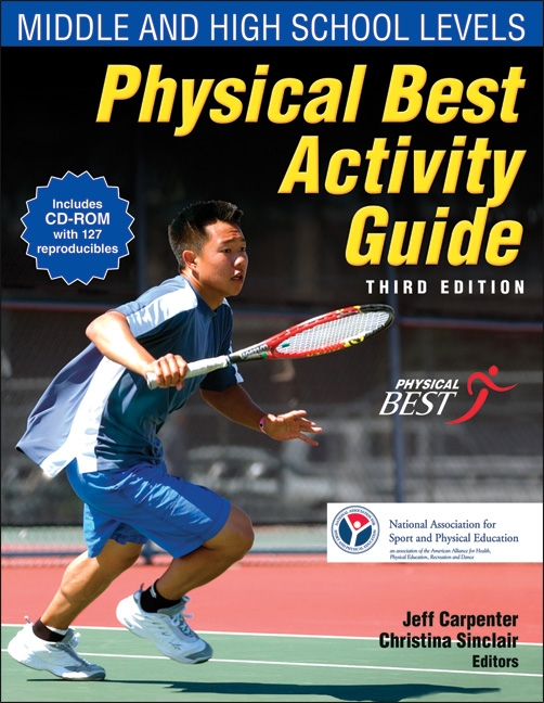 Physical Best Activity Guide, 3rd Edition: Middle and High School Levels