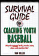 Survival Guide for Coaching Youth Baseball eBook Cover