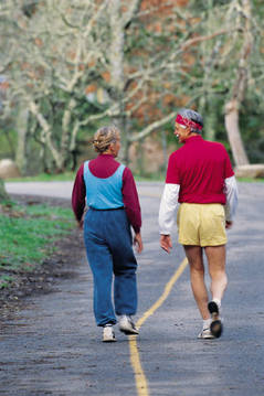 Walking is a simple and effective intervention.
