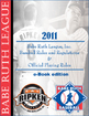 2011 Babe Ruth League Rules Books Available as e-Books