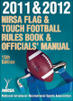 2011 & 2012  NIRSA Flag & Touch Football Rules Book & Officials' Manual-15th Edition Cover