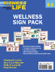 Fitness for Life: Elementary School Wellness Sign Pack Cover