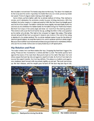 Hip rotation and pivot