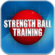 Strength Ball Training, iPad Version With Video Cover