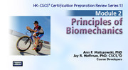 NSCA: CSCS ORS: Module 2 - Biomechanics & Orthopedics, Version 1.1-NT