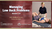 NATA: Managing Low Back Problems 2.0 Course