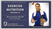 ACE: Exercise Nutrition Course, Version 2.0-ET