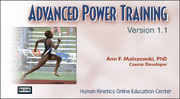 ACSM: Advanced Power Training, Version 1.1-NT