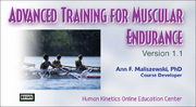 ACSM: Advanced Training for Muscular Endurance, Version 1.1-T