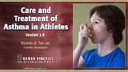 ACSM: Care and Treatment of Asthma in Athletes Course, Version 2.0-NT
