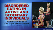 ACSM: Disordered Eating in Active and Sedentary Individuals-T