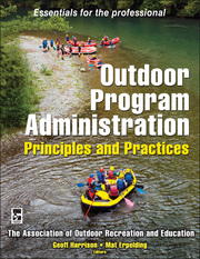 Outdoor Program Administration eBook