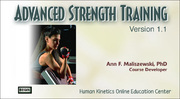 ISSA: Advanced Strength Training, Version 1.1-T
